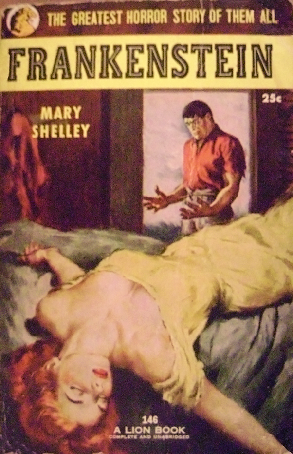 the creation of the monster in the novel frankenstein by mary shelley Frankenstein by mary wollstonecraft shelley  framed story in the narrative of the monster to frankenstein  the novel frankenstein,.