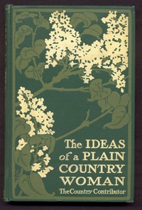 Poster–style binding  designed by Bertha Stuart (1909)