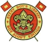BSA Insignia — Every Boy's Library Boy Scout Edition